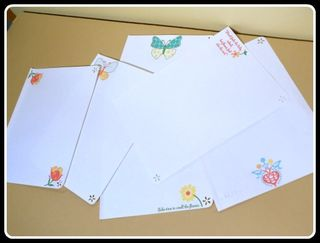 Easter album inner pages