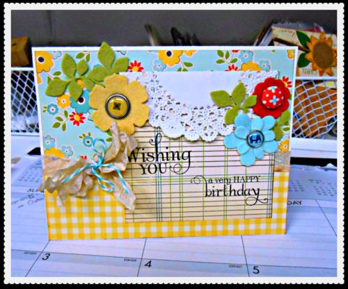 Kelsey birthday card